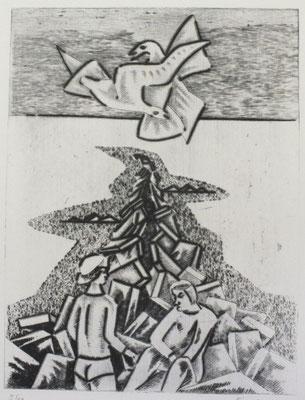 Am Meer II  1978  30 x 39,5      ( 2 )