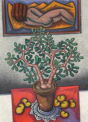 Topfpflanze  1983  78 x 105