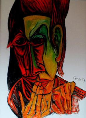 Paar  2010  75 x 100