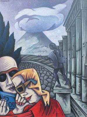 Pompeji  1976  75 x 100