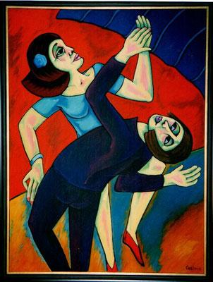 Tanzendes Paar  2001    90 x 120