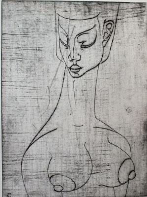 Halbakt  1968    29 x 39,5