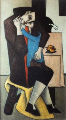 Mutter mit Kind  1953    85 x 150