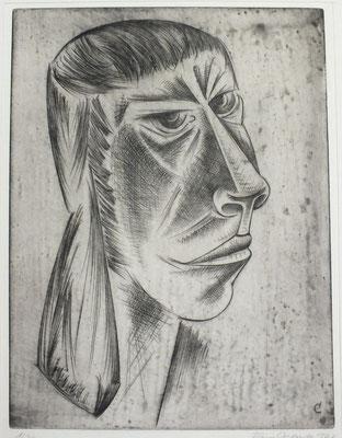 Frauenkopf  1968  30 x 39,5