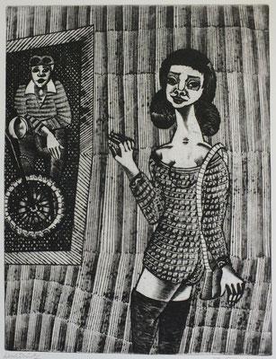 Freizeit  1976  30 x 40