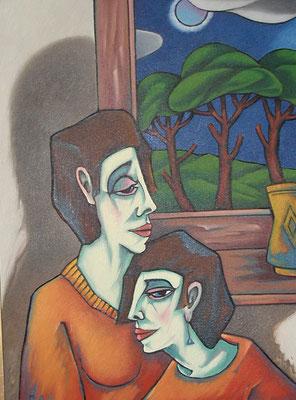 Freundinnen  1999    75 x 100