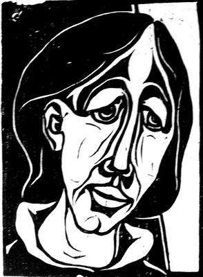 Porträt  1958  32,5 x 23,5