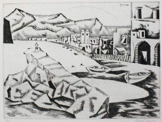 Ischia VI  1973  40 x 30