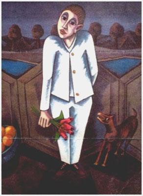 Tulpenkavalier  1987    91 x 112