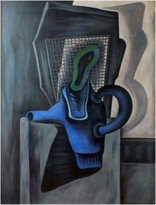 Blauer Krug    85 x 110
