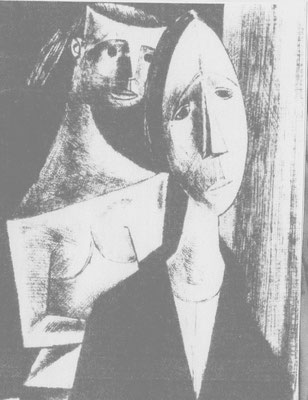 Lokalszene  1957    23 x 32