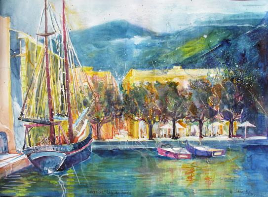 Lago di Garda_Malcesine 2_56x76 cm