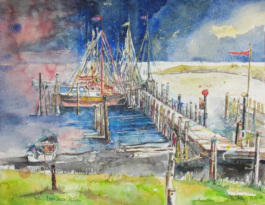 Sylt_Hafen von Rantum_36x48 cm