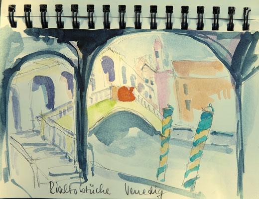 Rialtobrücke_Venedig
