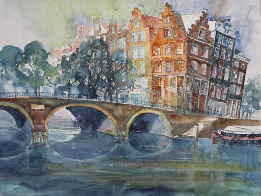 Amsterdam_Brouwersgracht_50x65 cm_11-2016