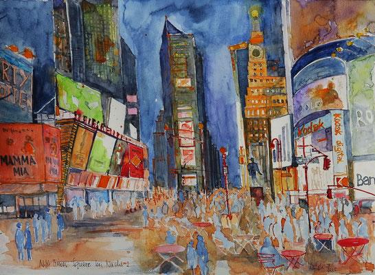 N.Y. Times Square bei Nacht_36x48 cm
