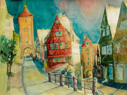 Stadttore_Rothenburg o.d. Tauber_50x60 cm