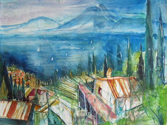 Lago di Garda_Albisano_56x76 cm
