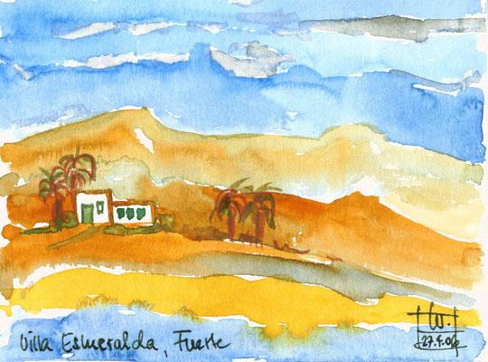 Villa Esmeralda, Fuerteventura 15 x 20 cm