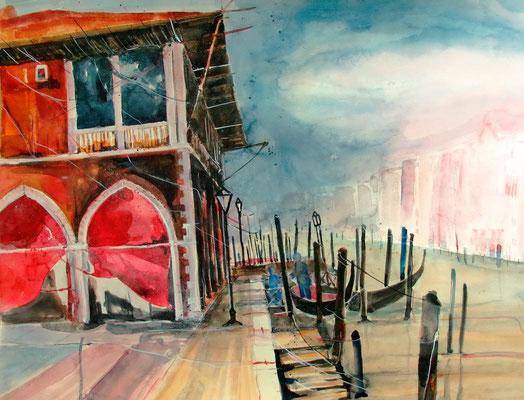 Pescheria_Venedig_50x60 cm