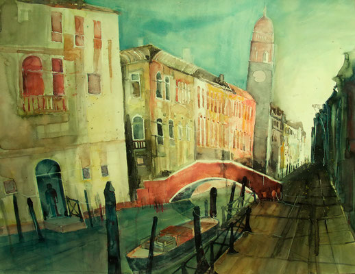 Rio di San Lorenzo_Venedig_56x76 cm