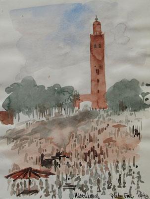 "Platz ""Djemal Ifna"" in Marrakesch_Marokko"