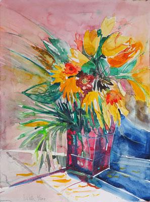 Sommerblumen_Aquarell 36x48 cm_6-2017
