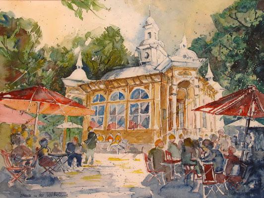 Bremen_Sommer in der Waldbühne im Bürgerpark_36x48 cm