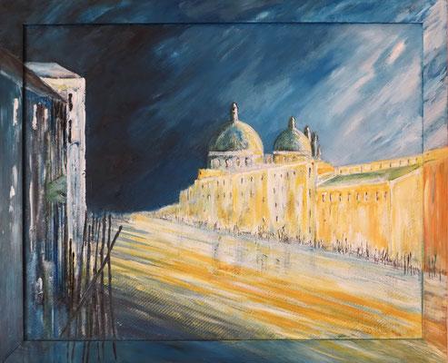 Venedig_Santa Maria della Salute_Acryl auf Hartfaser 60 x 80 cm_2006