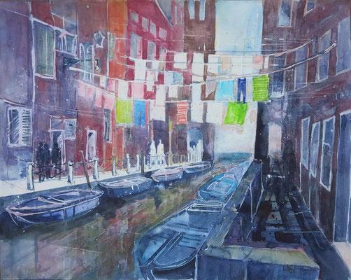 Venedig_Rio Riello_Aquarell 50x65 cm_6-2017