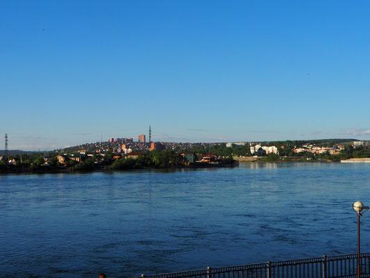 Angara Fluss Irkutsk