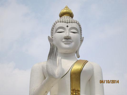 in Thailand angekommen
