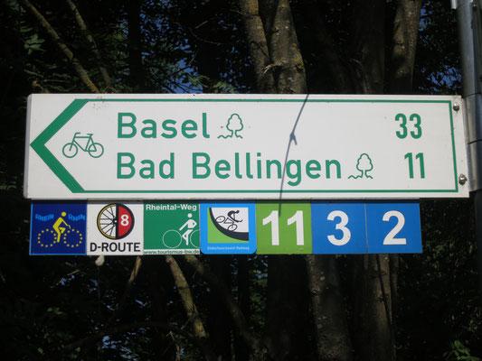 am Rhein nach Breisach