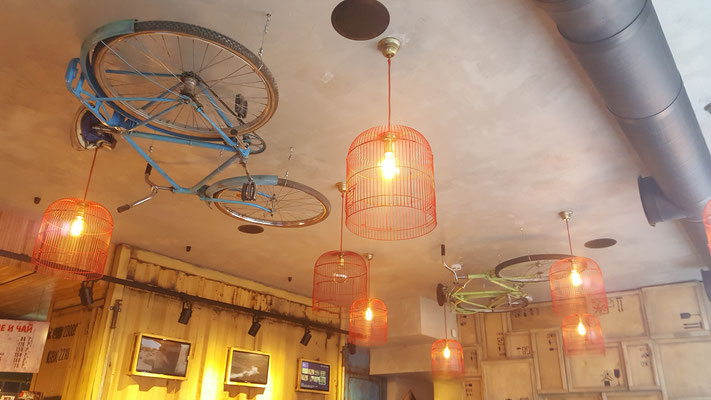 meine Fahrräder werden künftig auch so gelagert