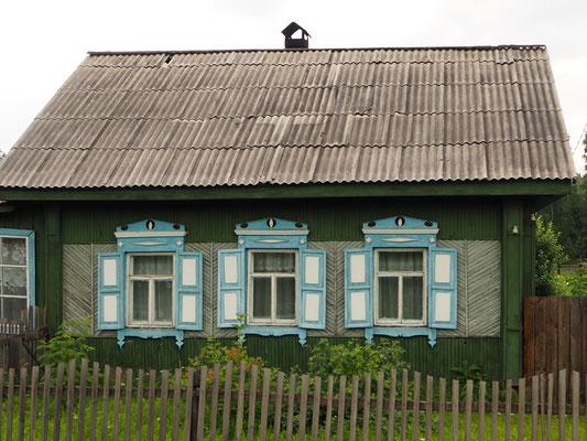 sibirische Architektur