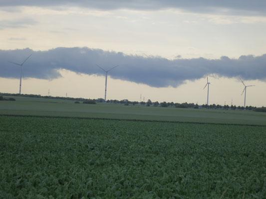 Gewitterwolken bei Pattensten