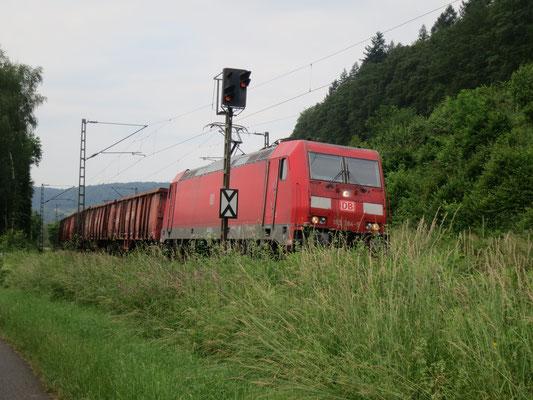 DB-Cargo bei Gelnhausen