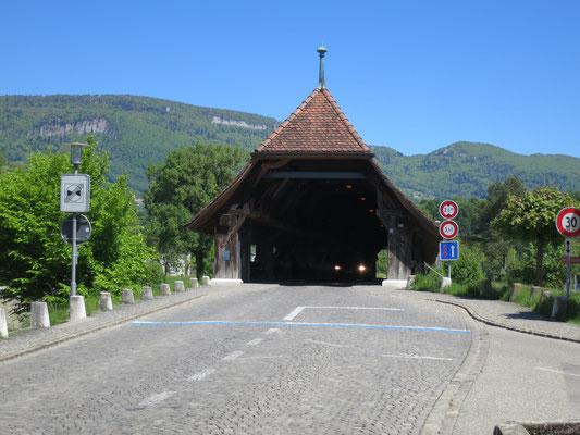 Aarebrücke Wangen an der Aare