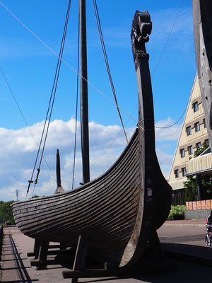 Vikingerboot in Vyborg