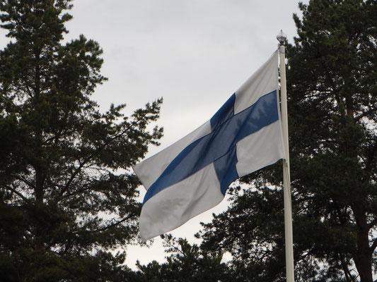 In Finnland angekommen
