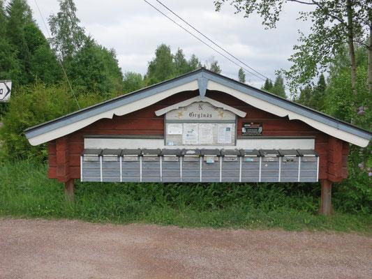 Postfach auf schwedisch