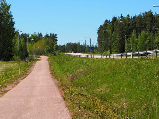 finnischer Radweg