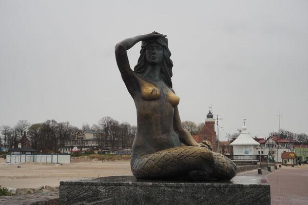 Meerjungfrau in Ustka
