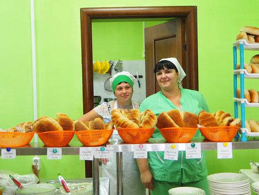 in der sibirischen Bäckerei