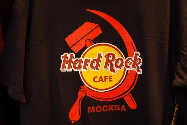 Ein Besuch des Hard Rock Cafè Moskau durfte nicht fehlen