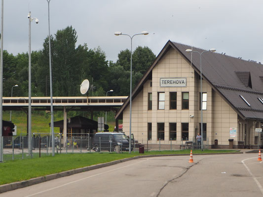 Grenzübergang Terehova