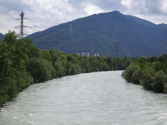 Rhein bei Chur