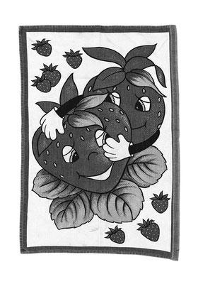 Handtuch Nr. 28, Acrylglas, 40x30cm