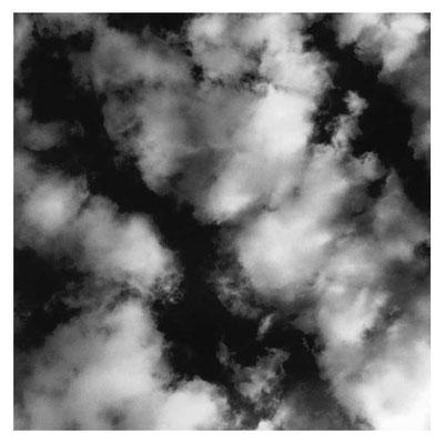 Cumulus humilis, fractus