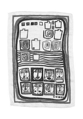 Handtuch Nr. 34, Acrylglas, 40x30cm